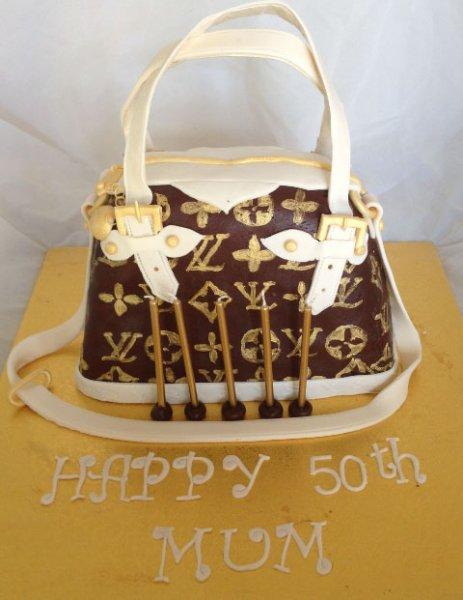 Celebrate Cakes Adult Birthday Cakes -  - Louis Vuitton Bag Cake