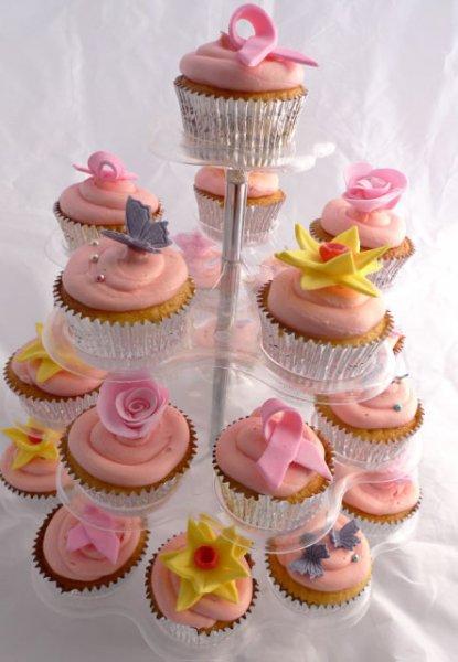 Celebrate Cakes Adult Birthday Cakes - Cupcake tower cake