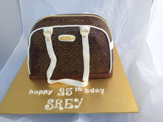 Celebrate Cakes Adult Birthday Cakes - Louis Vuitton Bag Cake
