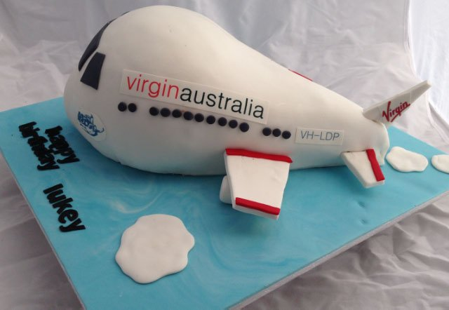 Celebrate Cakes Adult Birthday Cakes - Airplane Cake
