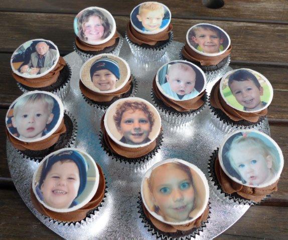 Celebrate Cakes Adult Birthday Cakes - photo cupcakes