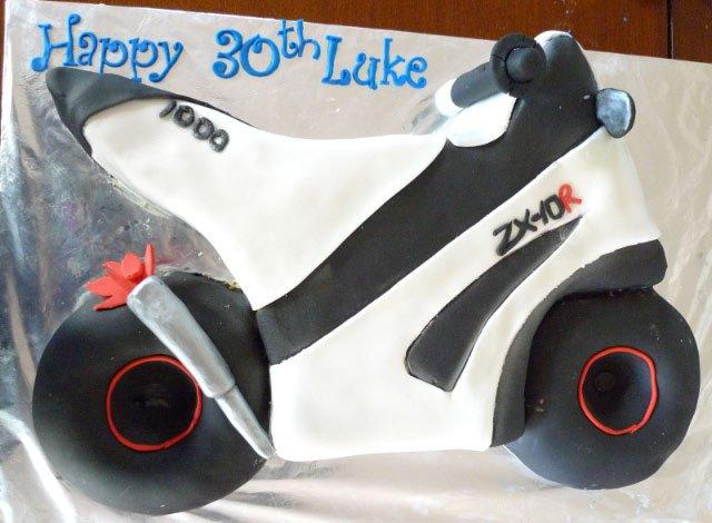 Celebrate Cakes Adult Birthday Cakes - motor bike cake