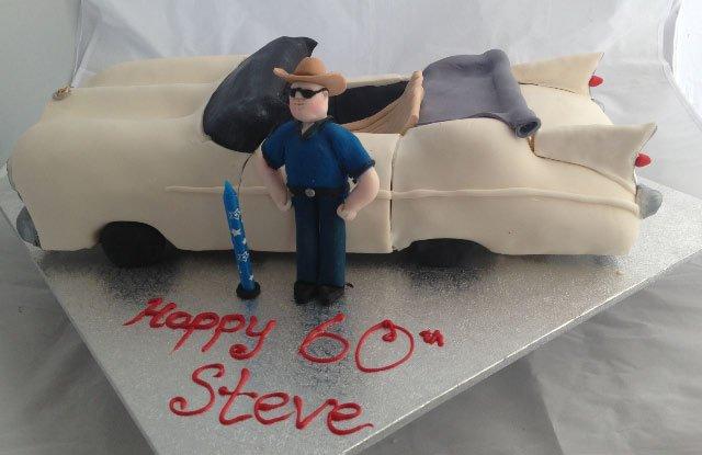 Celebrate Cakes Adult Birthday Cakes - Cadalack Cake