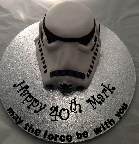 Celebrate Cakes Adult Birthday Cakes - storm trooper cake