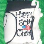 Celebrate Cakes Adult Birthday Cake Golf Bag Cake