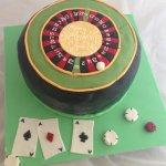 Celebrate Cakes Adult Birthday Cakes - Roulette Birthday Cake