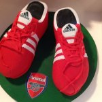 Celebrate Cakes Adult Birthday Cakes - Soccer Boots Cake