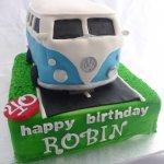 Celebrate Cakes Adult Birthday Cakes - VW Combi Cake