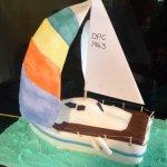 Celebrate Cakes Adult Birthday Cakes - sailing boat cake