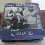 Celebrate Cakes Adult Birthday Cakes - Vin Diesel Photo Cake