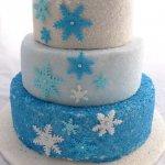 Celebrate Cakes Adult Birthday Cakes - Blue Stars Cake