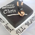 Celebrate Cakes Adult Birthday Cakes- all blacks birthday cake