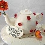 Celebrate Cakes Adult Birthday Cakes- tea pot birthday cake