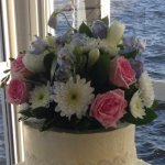Celebrate Cakes Wedding Cake Toppers - Natural flowers