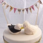 Celebrate Cakes Wedding Cake Toppers - hand made sugar figurenes