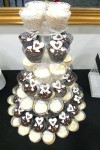 Celebrate Cakes Cupcakes - a wedding cupcake tower