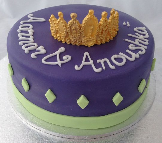 23 Princess Crown Cake