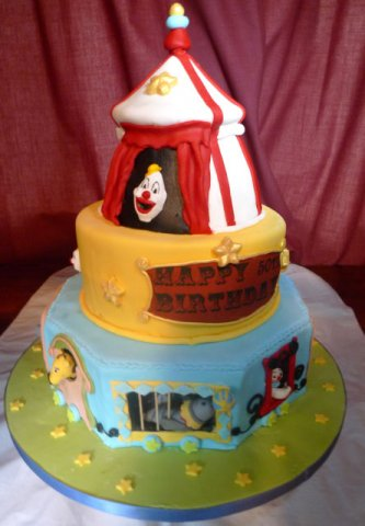 20 Circus Cake