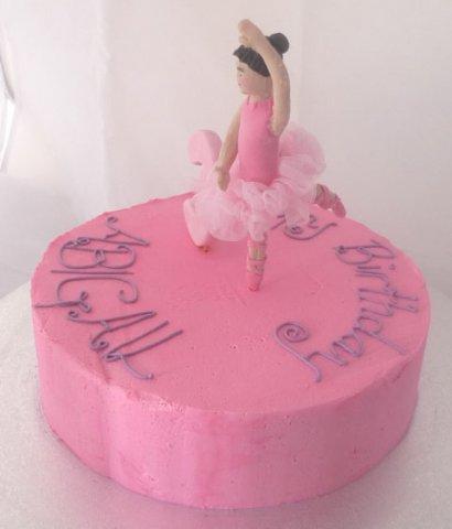 31 Ballerina Birthday Cake