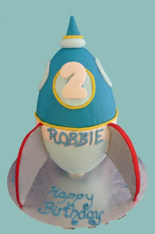 37 Rocket Ship Cake mk2