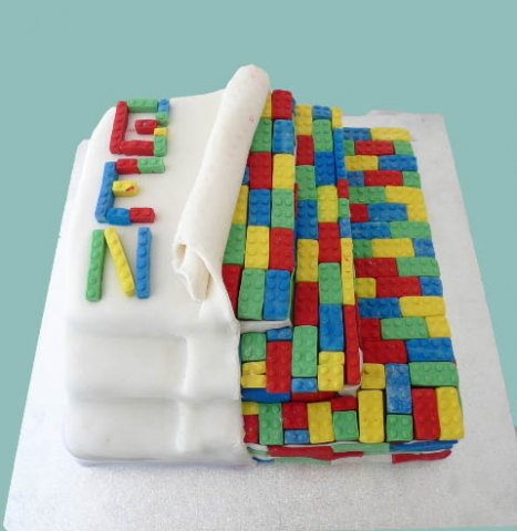 43 Lego Kids Birthday Cake