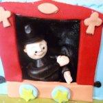 21 Circus Cake Figurine