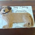 11 Dog Birthday Cake