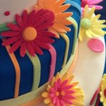 Celebrate Cakes Sugar Flowers - Brightly coloured sugar gerberas