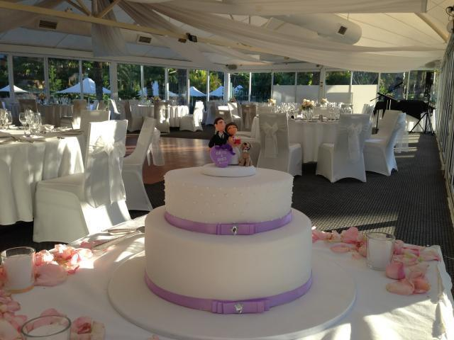 Celebrate Cakes - Wedding Cake with butterfly