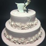 Celebrate Cakes - Wedding Cake with mini cakes