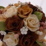 Celebrate Cakes - Wedding Cake sugar roses