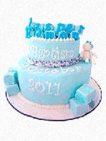 Perth Baptism Cake