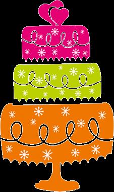 Celebrate Cakes Logo Cake