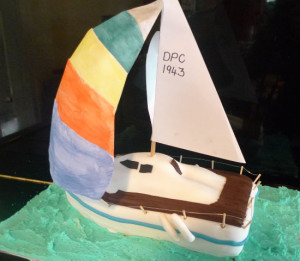 Perth Adult Birthday Cakes 3D Boat Birthday Cake